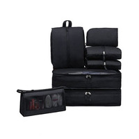 High Quality 7 Piece Packing Cubes Set Travel Luggage Organizers