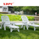 Outdoor furniture double sunbed beach sun bed lounge chair