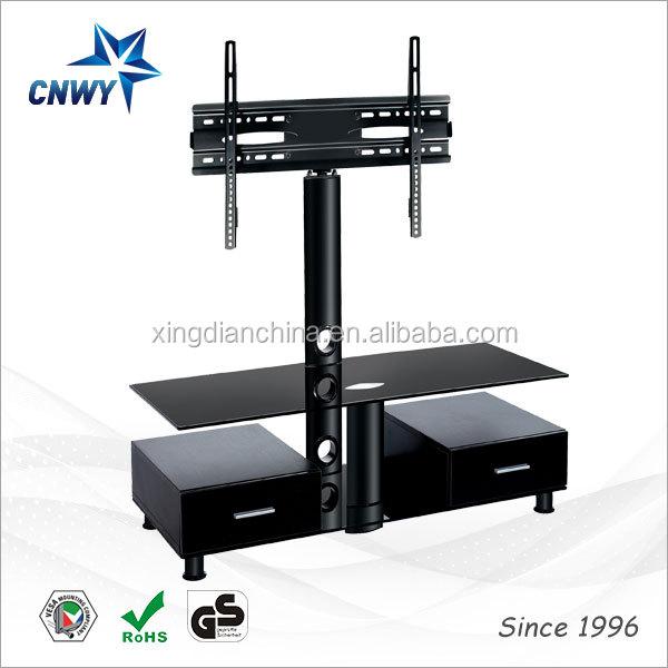 Moderne ontwerp zwart gehard glas planken moderne ontwerp zwart gehard glas planken tv stand pak - Planken modern design ...