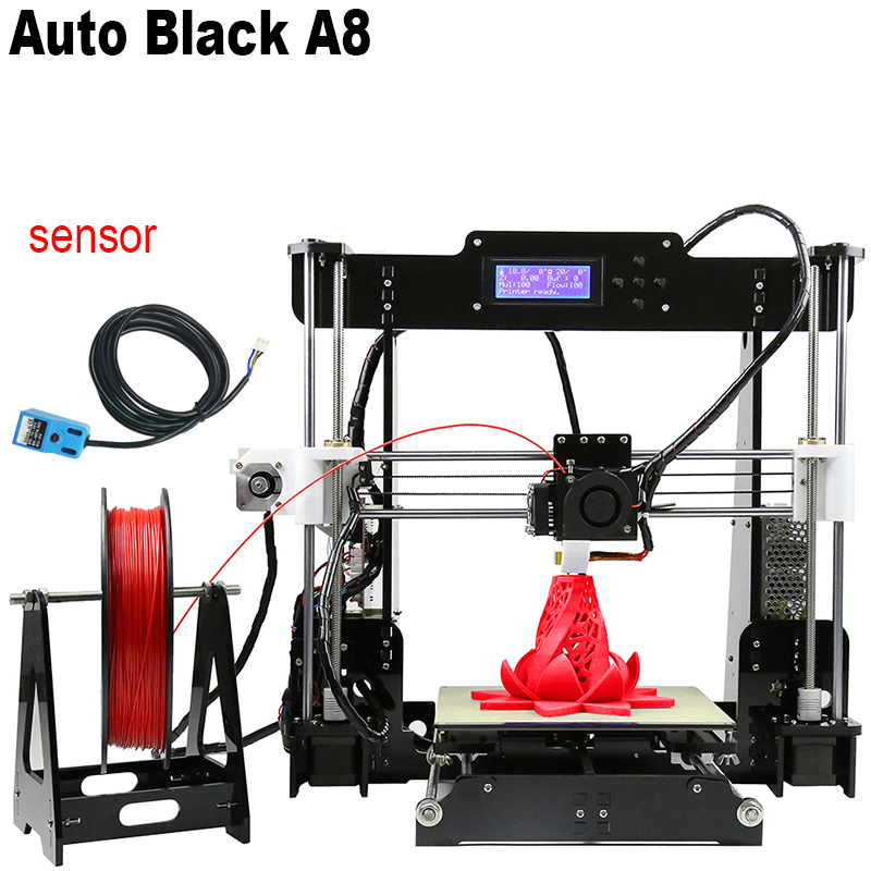 2017 New Auto Leveling DIY 3D Printer RepRap Prusa i3 Desktop 3D Printer