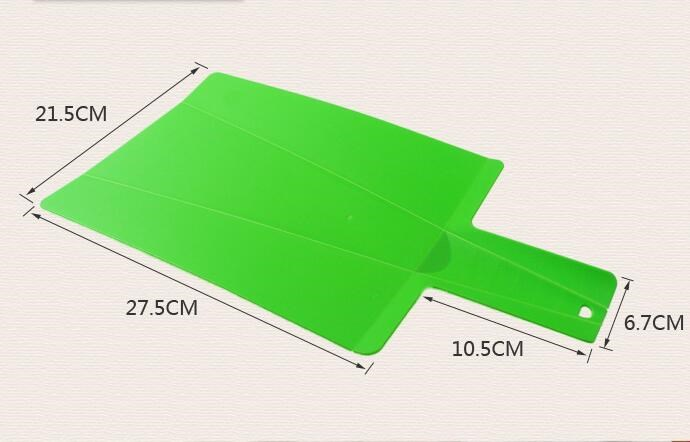 free shipping Eco-friendly PP foldable cutting board chopping block mini cutting board