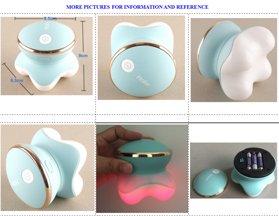 Hand Held Massager Mini Portable Body Vibrating Massage Hand Head Neck Back Legs Arms Face Pain Release