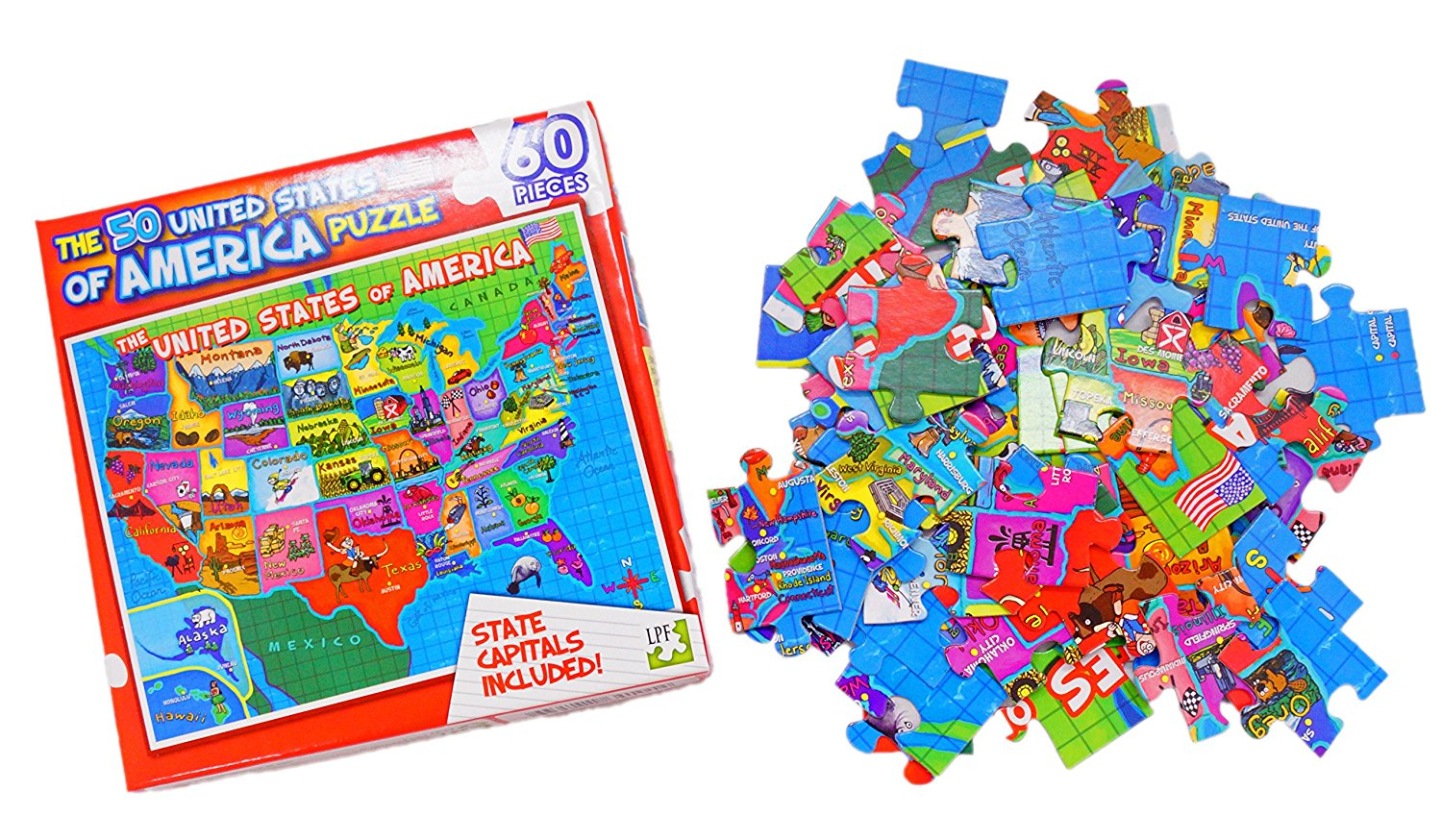 Map Of America Jigsaw.Cheap America Map Puzzle Find America Map Puzzle Deals On Line At