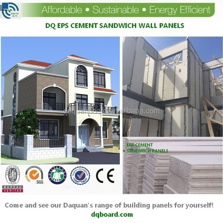Daquan high strength and qualified sound insulation cheap prefab steel structure house