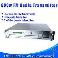 FMUSER FSN-600 600W FM Radio Station Software 0-600w Adjustable For FM Radio Station 30KM Range-RC6