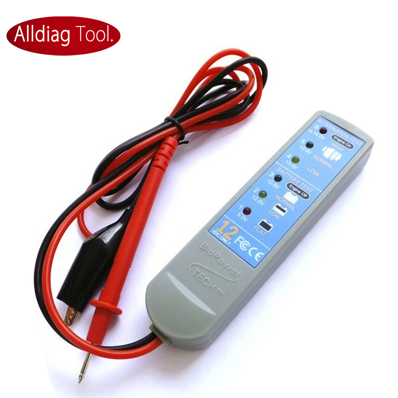 Biopower тестер аккумулятора зарядки светло-транспортного система анализатор быстрый диагнозы для аккумулятор / генератор выход