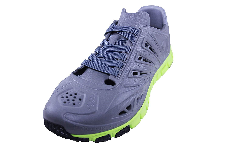 big sale cd38e 7a0b3 Get Quotations · Crosskix Unisex APX Athletic Shoes (M9W11, Charcoal Lime)