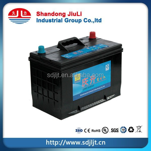 95D31 Car Battery for starting 12v 80Ah