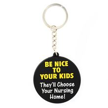 Best selling excellent quality brand logo pvc rubber keychain for wholesale
