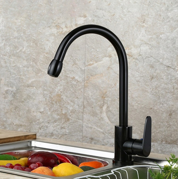 Aluminum Kitchen Faucet Single Handle Brushed Faucet Kitchen Sink Faucets -  Buy Kitchen Water Faucet Water Faucet,European Style Kitchen Faucets,Water  ...