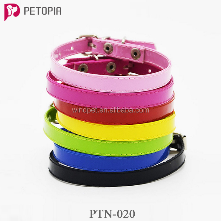 Fashion Pet Supplies Dog Cat's Adjustable Buckle Collar Neck Strap