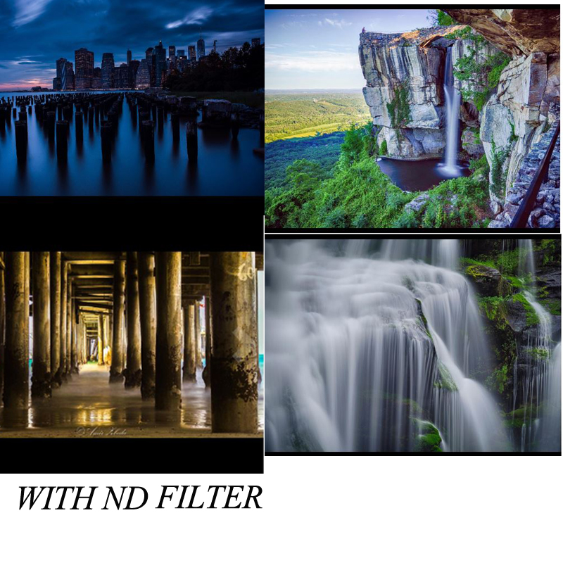 55mm camera accessories photography ND filter set
