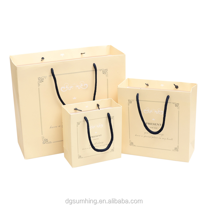 Top Sale Paper Bag guaranteed Quality Proper Price Hand Paperbag Shape Paper Gift Bag