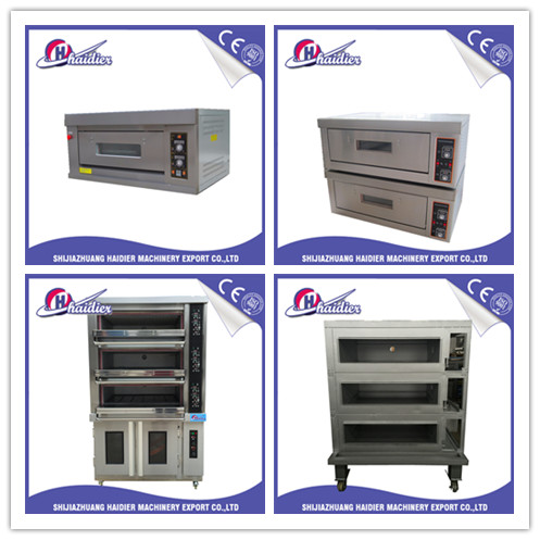 Luxury 4 Trays Deck Oven with Proofer / Bakery Oven/ Bread Oven