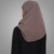 Hotsale Muslim Everyday Plain Mud Grey Instant Hijab Turkish Style Scarves