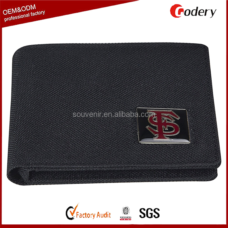 Promotional Fashion wallet Men's Nylon Safe Travel Wallet