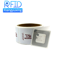 printable blank ISO 15693 / ISO 14443A HF / UHF rfid library tag for books