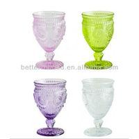 colored champagne flute/ glassware