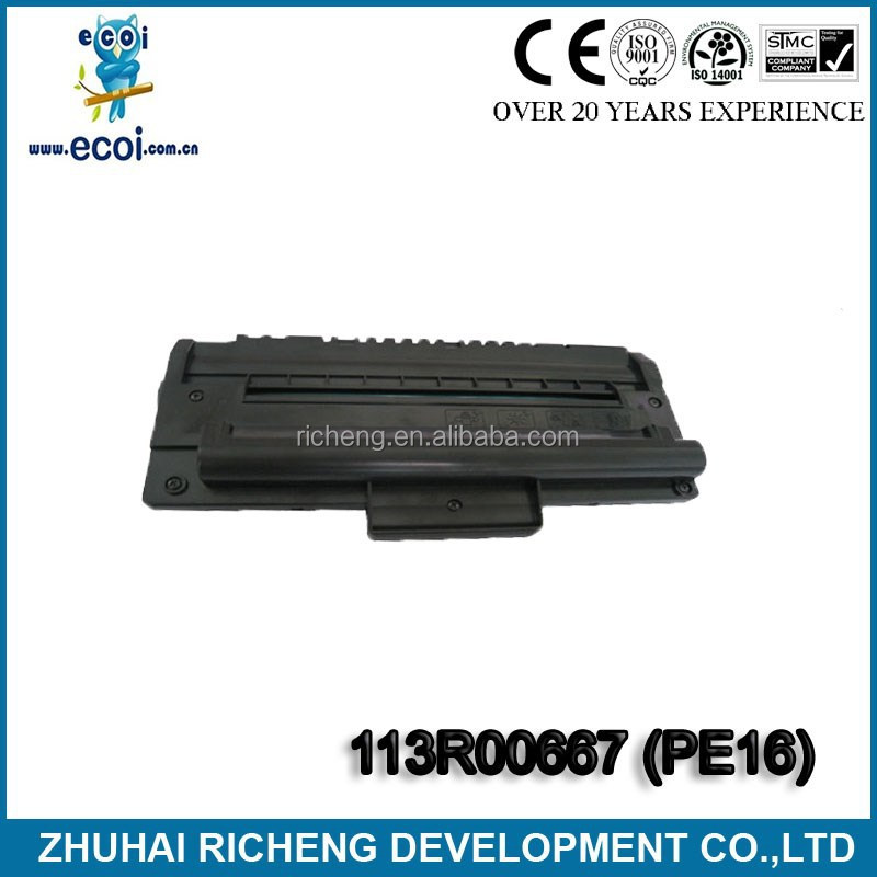 new product!Compatible PE16 Toner Cartridge for WorkCentre PE16,black toner cartridge 113R00667