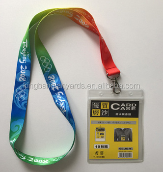 Id Card Badge Holder Lanyard With