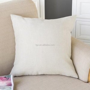 100% Polyester High Quality Plain Blank Solid Color Cushion Cover