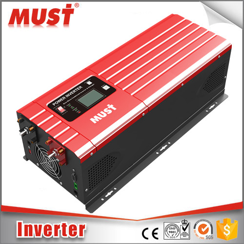 Intelligent 12v to 220v DC to AC Inverter 1000W modified pure sine wave 1-200kw output power inverter