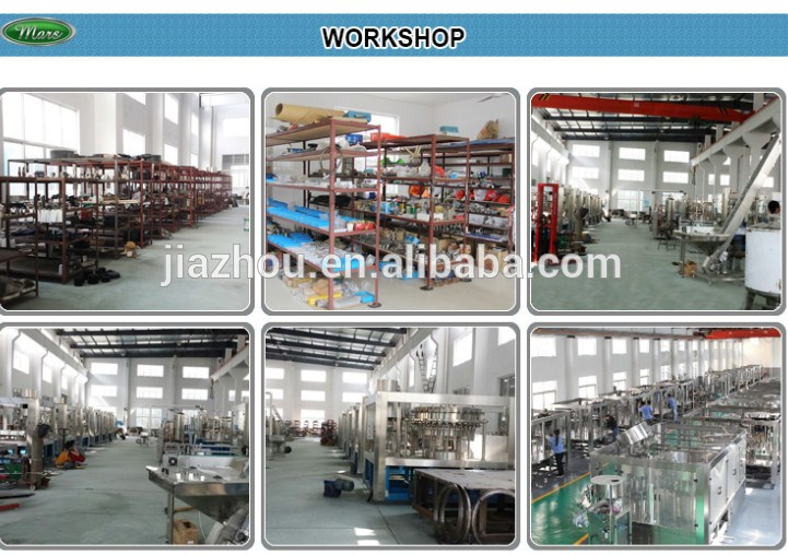 Rotary type Drinking Water Filling Machine 3in1 /flavored water processing/Carbon dioxide drink filling machine