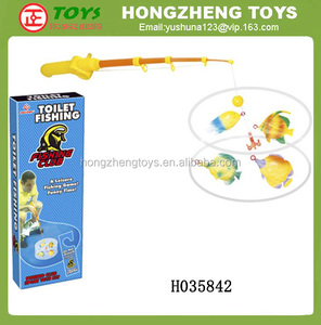 Potty Fisher, Toilet Fishing Game,The toy for the avid fisherman H035842