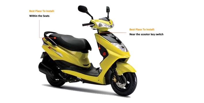 GPS オートバイトラッカー GPS 自転車トラッカー GSM/GPRS/Gps のグローバルトラッキングデバイス