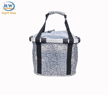 New arrive front folding bicycle basket removable bicycle basket bicycle equipment