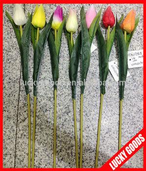 Custom Design Decoration Fireproof Fake Tulips For Sale ...
