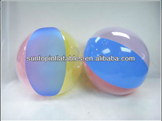 Inflatable beach ball with high quality
