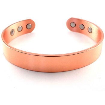 Customized fashion copper magnetic cooper cuff bracelet