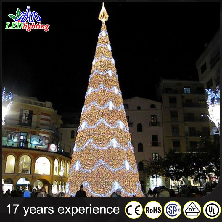 Outdoor Big Pvc Artificial Giant Christmas Tree Light, Outdoor Big ...