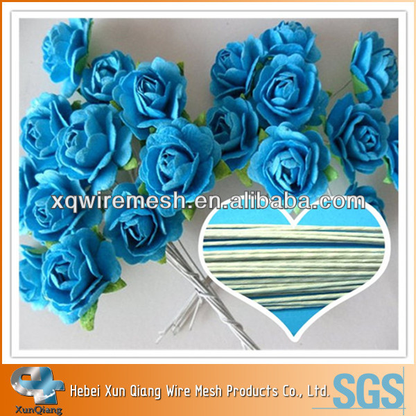 Craft Paper Wrapped Florist Stem Wire,Floral Stem Wire,Flower Making ...