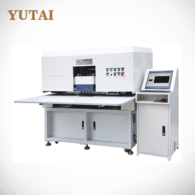 YT-A2 Punch Hole Leather Machine With CNC & Cutter Setting Function