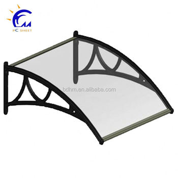 Polycarbonate Curved Pergola Door Awnings Lowes Price