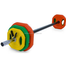 Wholesale Crossfit Gym 20KG Body Pump Barbell Weight Set