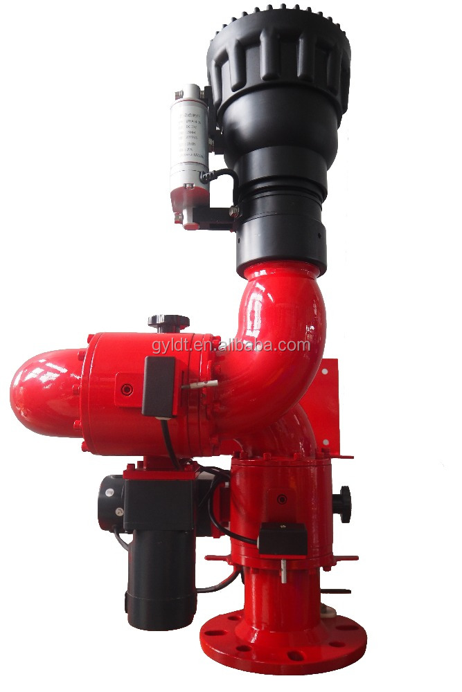 Fire Water Cannon For Wifi System, Marine Electric Fire Foam Monitor