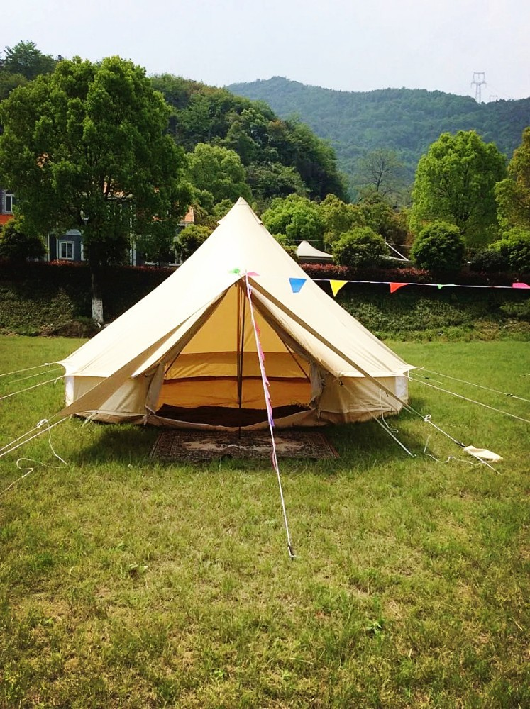 winterized to live in canvas bell tent : live in tents - memphite.com