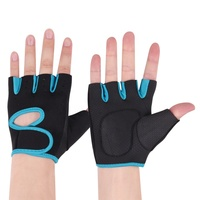Sports gloves diving cloth anti-skid and anti-seismic weight lifting gymnasium push barbell fitness hand protector