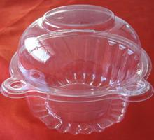 Hot Voor Clear Plastic Enkele Cupcake Cake Case Muffin Dome Houder Box Container