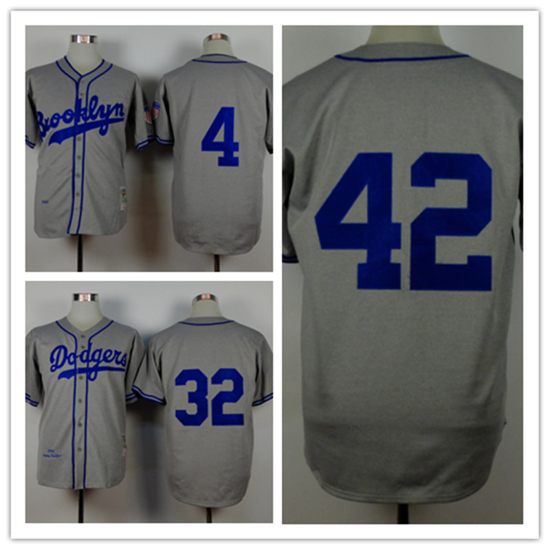 79bc4ed3d norway los angeles dodgers 42 jackie robinson white 1955 throwback jersey .  dcddb 9790f