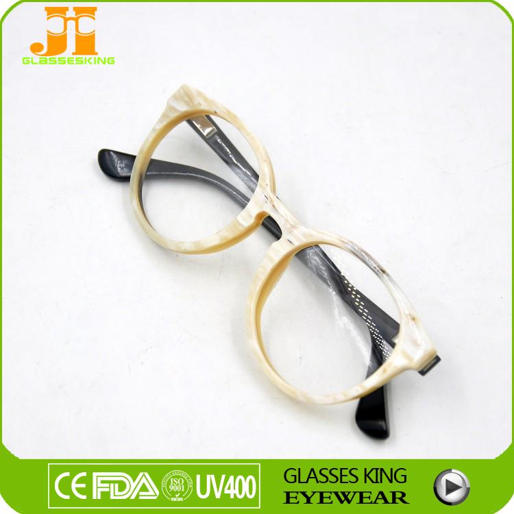 Custom Buffalo Horn Eyeglasses Frame 2017 - Buy Optical Eyeglasses ...