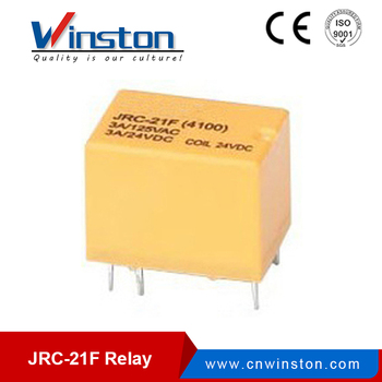JRC-21F PCB 24V 12V micro relay with CE