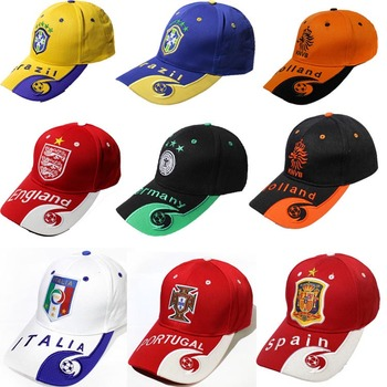 dccc60d89 High Quality Wholesale Custom 2018 Russia World Cup Cap And Hats Football  Baseball Caps