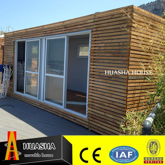 Fashion style prefab wooden container cabin house for sale