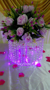 Wholesale Acrylic Cake Stands Crystal Chandelier Wedding Cake Stand