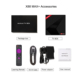 New popular models the latest RK3328 X88 MAX + 4/64gb android tv box wifi adapter