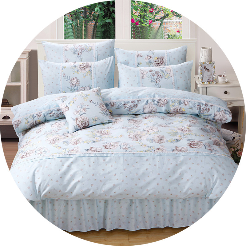 Großhandel Prinzessin Floral Bettwäsche Set Für Mädchen Frauen 100